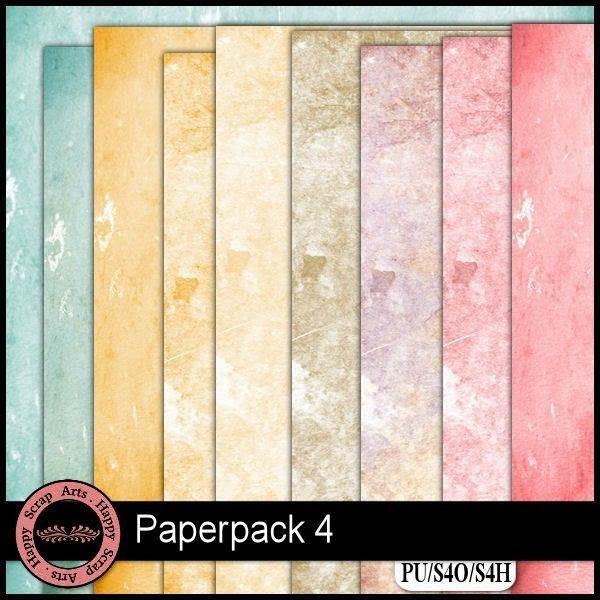 Nouveau   paper pack de  happyscraps arts