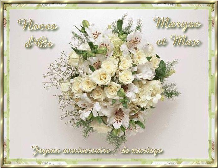 noces dor 50 ans de mariage - Noce 50 Ans De Mariage
