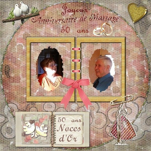 Cadeau 50 ans de mariage noces d or meilleur blog de photos de mariage pour vous - Cadeau noce d or ...